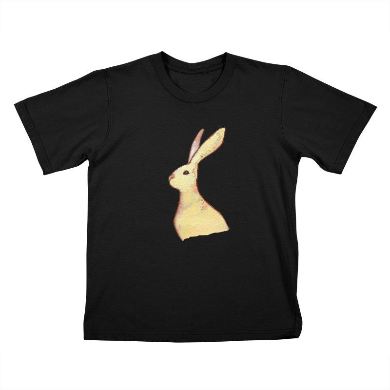 Jackrabbit in Orange Summer Sunset Kids T-Shirt by The Wilderness Store