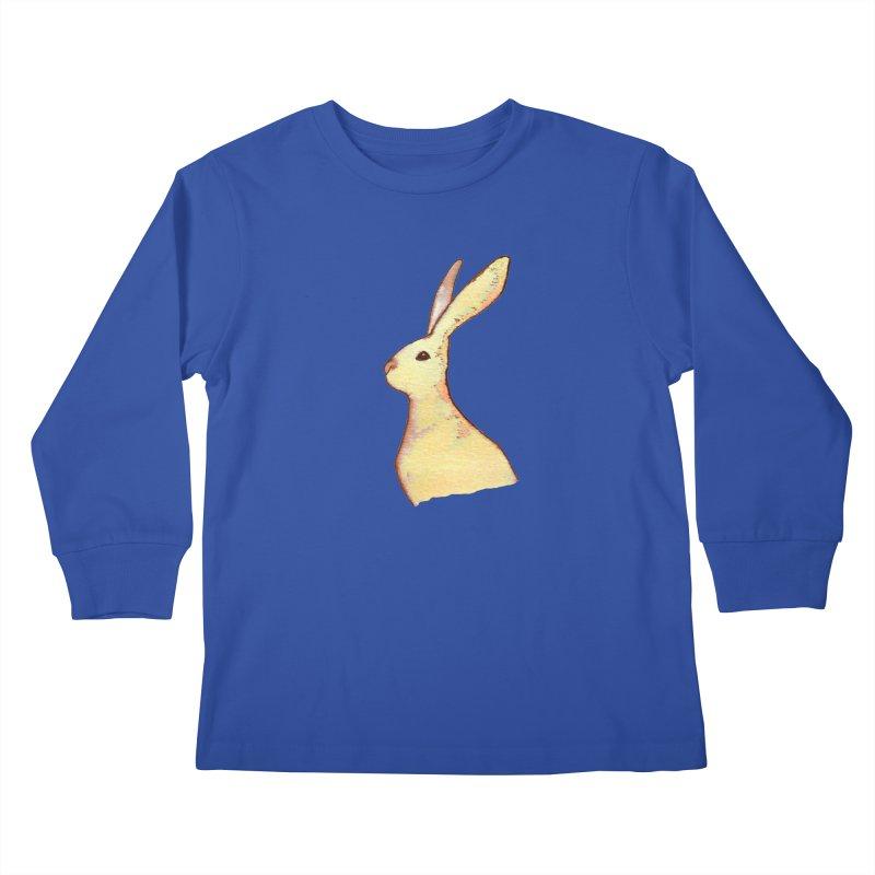Jackrabbit in Orange Summer Sunset Kids Longsleeve T-Shirt by The Wilderness Store