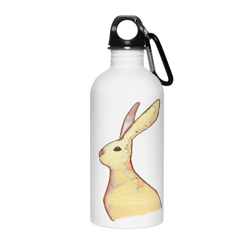 Jackrabbit in Orange Summer Sunset Accessories Water Bottle by The Wilderness Store