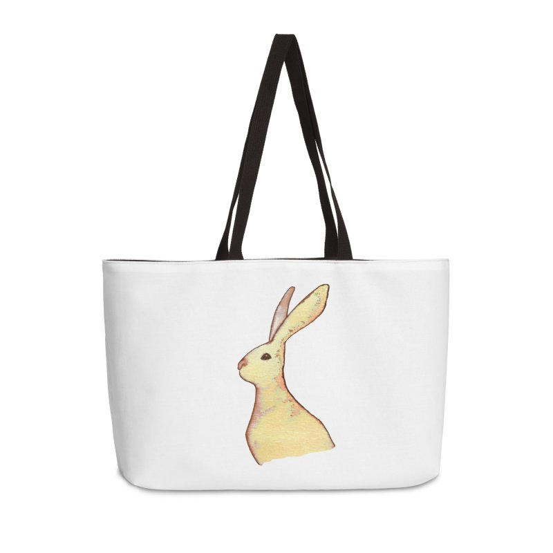 Jackrabbit in Orange Summer Sunset Accessories Weekender Bag Bag by The Wilderness Store