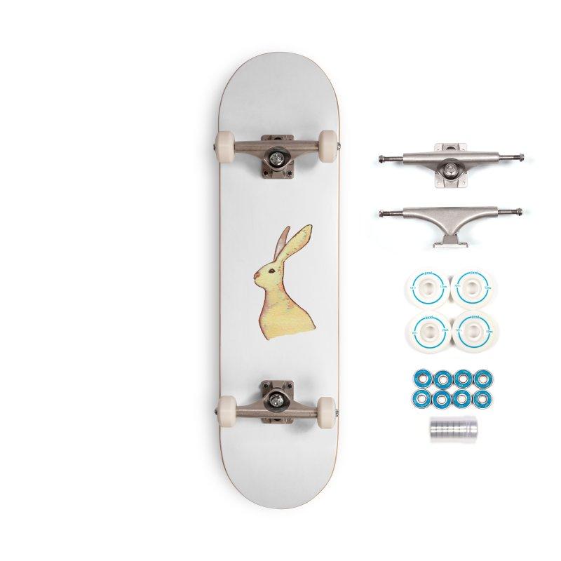 Jackrabbit in Orange Summer Sunset Accessories Complete - Basic Skateboard by The Wilderness Store