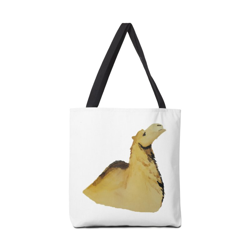Watercolor Camel Portrait Accessories Tote Bag Bag by The Wilderness Store