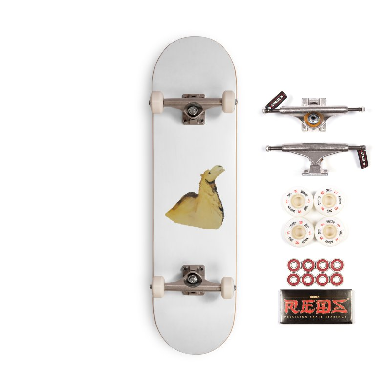 Watercolor Camel Portrait Accessories Complete - Pro Skateboard by The Wilderness Store