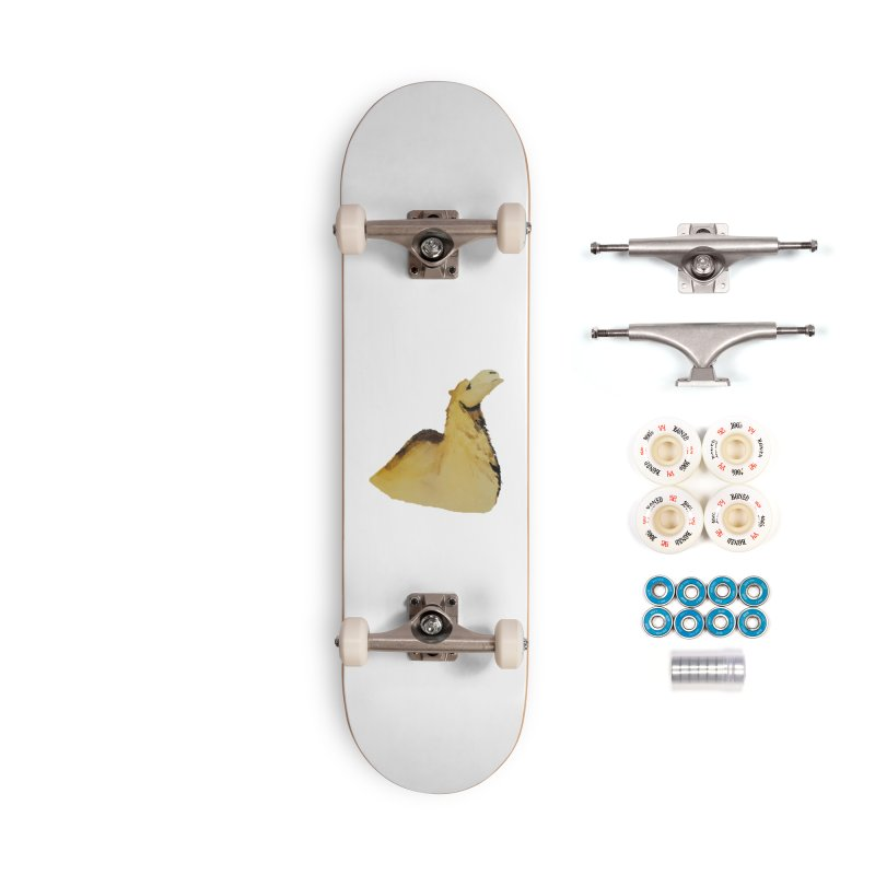 Watercolor Camel Portrait Accessories Complete - Premium Skateboard by The Wilderness Store