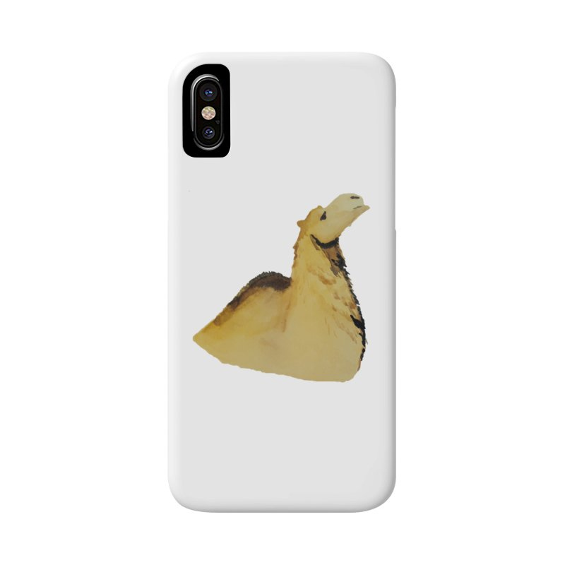 Watercolor Camel Portrait Accessories Phone Case by The Wilderness Store