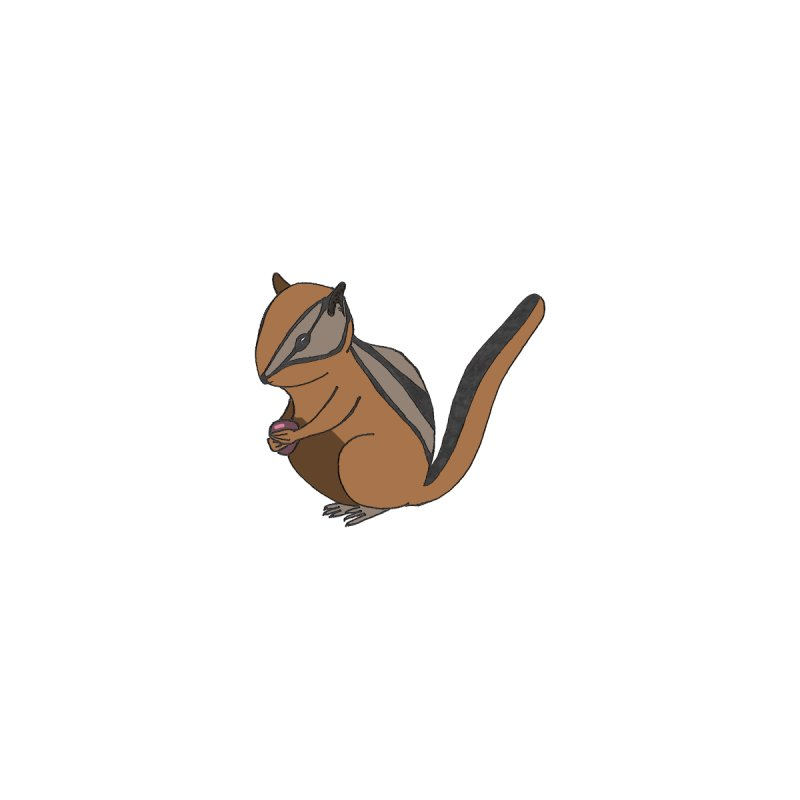Chipmunk with Berry Home Fine Art Print by The Wilderness Store