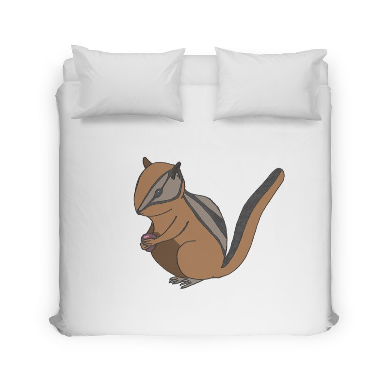 Chipmunk with Berry Home Duvet by The Wilderness Store