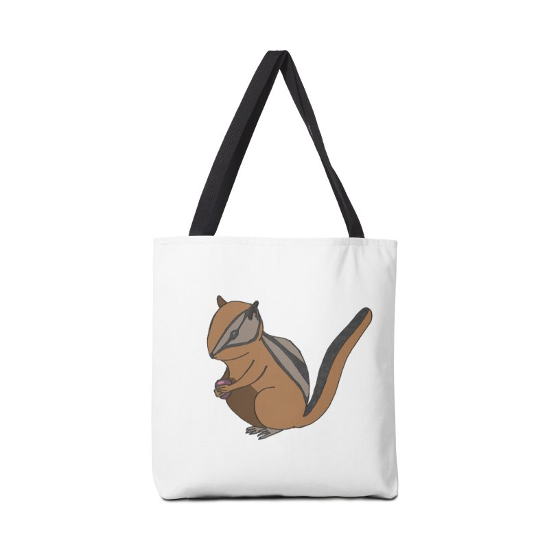 Chipmunk with Berry Accessories Bag by The Wilderness Store