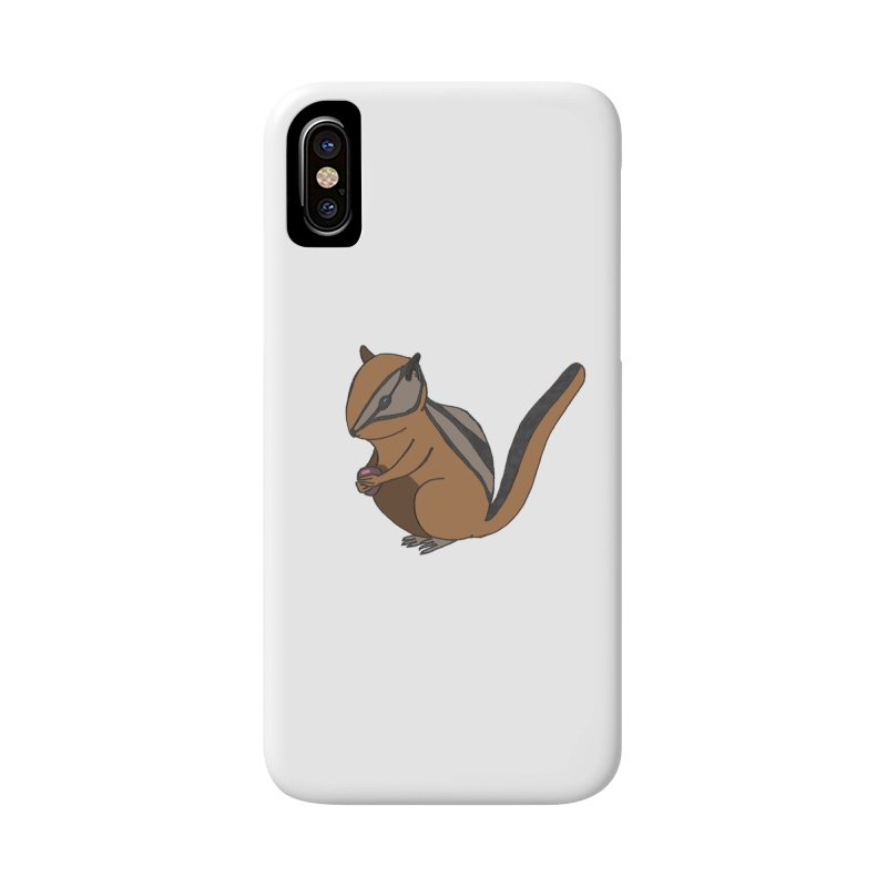 Chipmunk with Berry Accessories Phone Case by The Wilderness Store