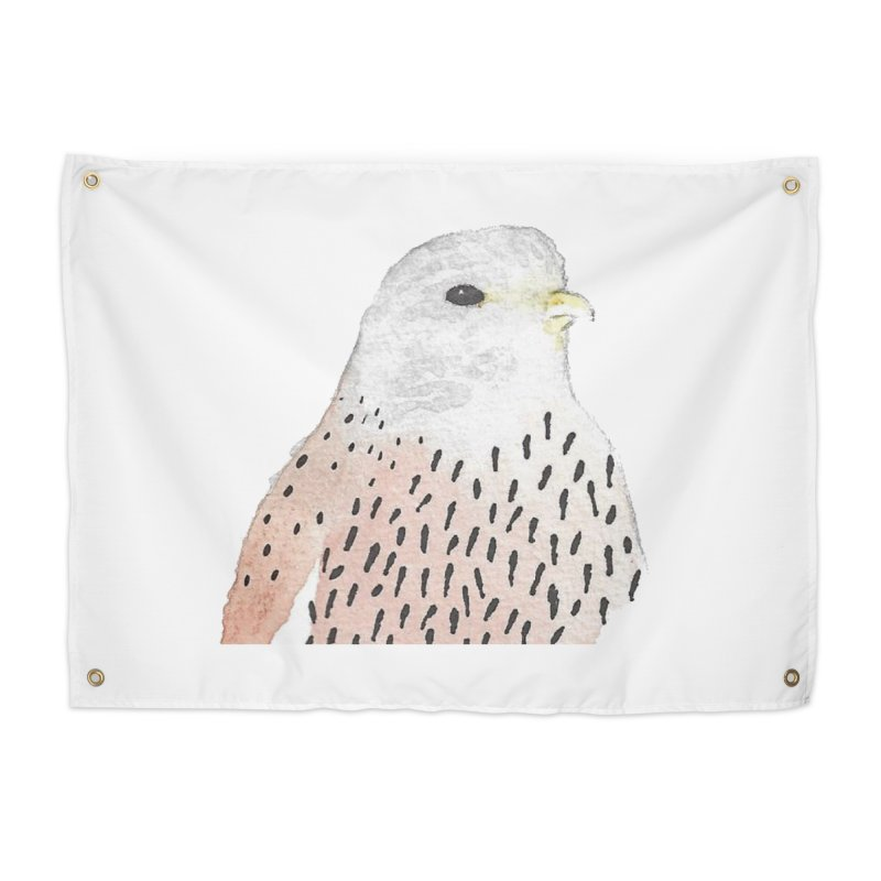 Watercolor Kestrel Home Tapestry by The Wilderness Store