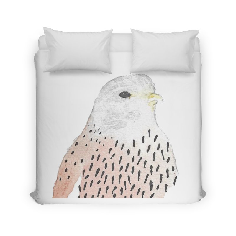 Watercolor Kestrel Home Duvet by The Wilderness Store