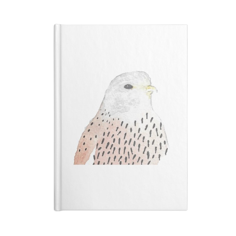 Watercolor Kestrel Accessories Notebook by The Wilderness Store