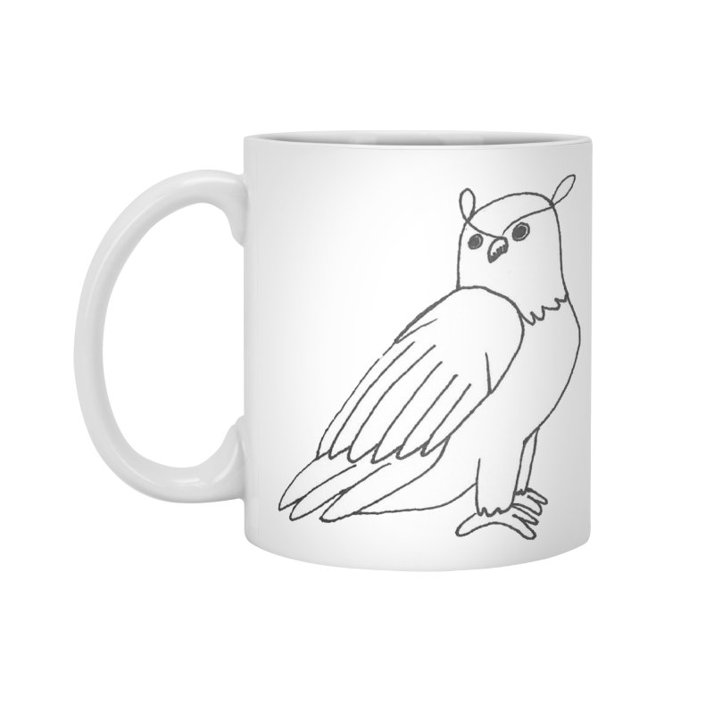 Majestic Eagle Owl Accessories Mug by The Wilderness Store