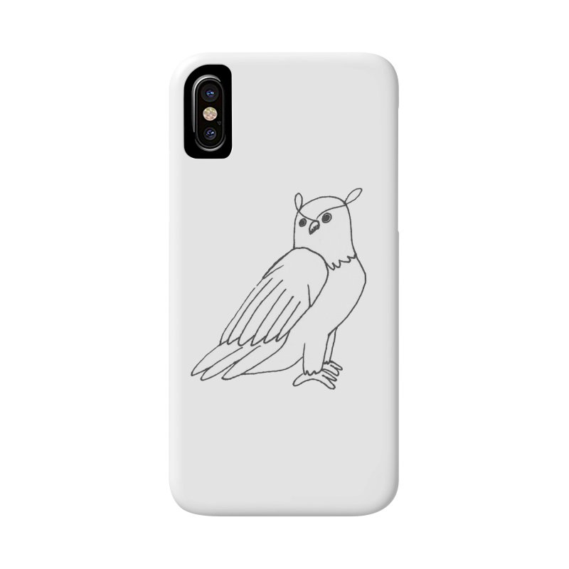 Majestic Eagle Owl Accessories Phone Case by The Wilderness Store