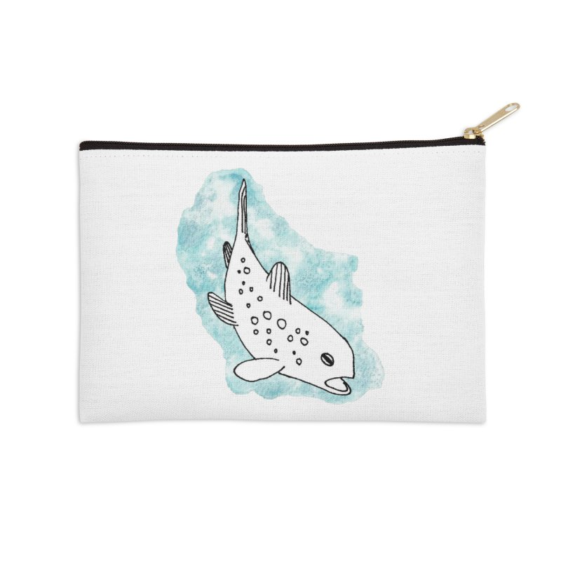 Spotted Brown Trout Accessories Zip Pouch by The Wilderness Store