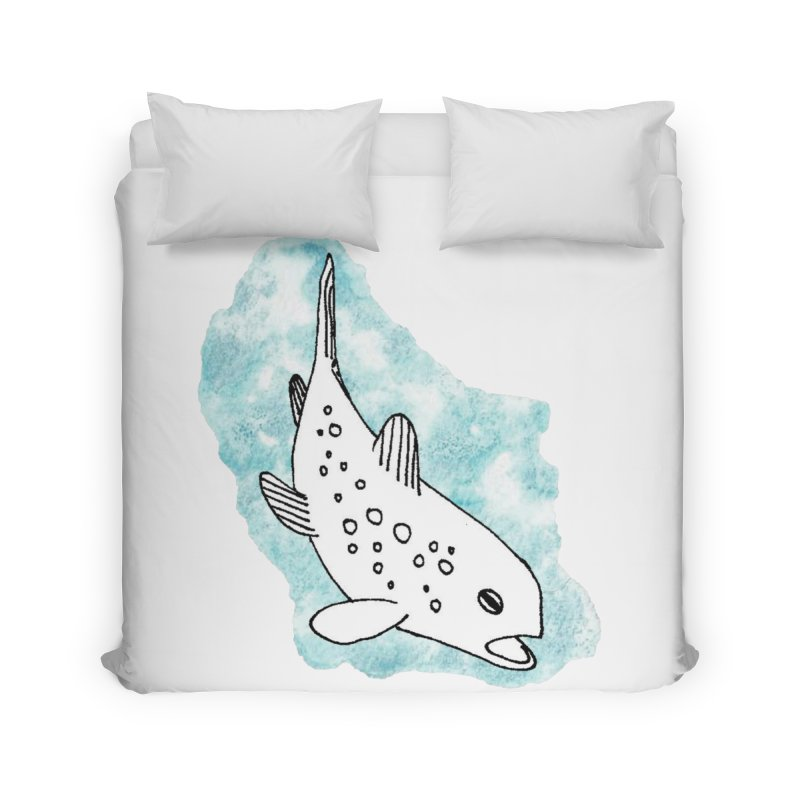 Spotted Brown Trout Home Duvet by The Wilderness Store