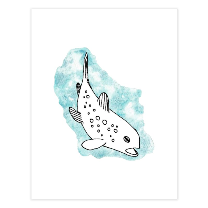 Spotted Brown Trout Home Fine Art Print by The Wilderness Store