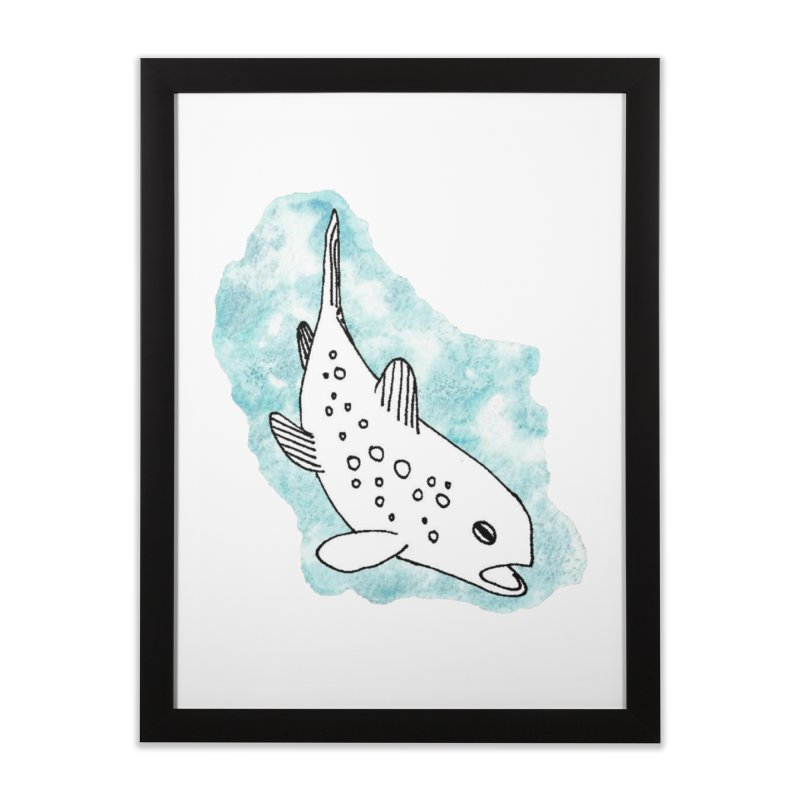 Spotted Brown Trout Home Framed Fine Art Print by The Wilderness Store