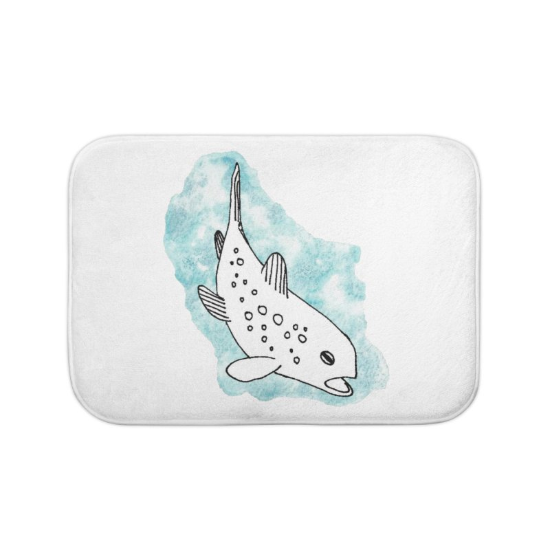 Spotted Brown Trout Home Bath Mat by The Wilderness Store
