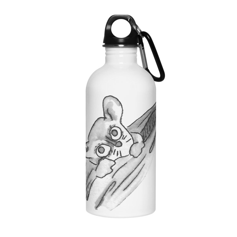 Ink Mouse Lemur Accessories Water Bottle by The Wilderness Store