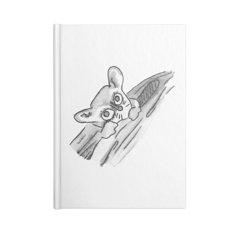 Ink Mouse Lemur Accessories Notebook by The Wilderness Store