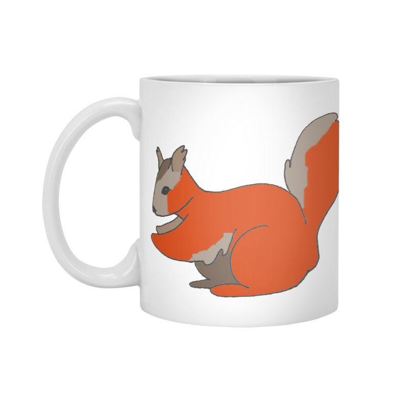 Red Tree Squirrel Accessories Mug by The Wilderness Store