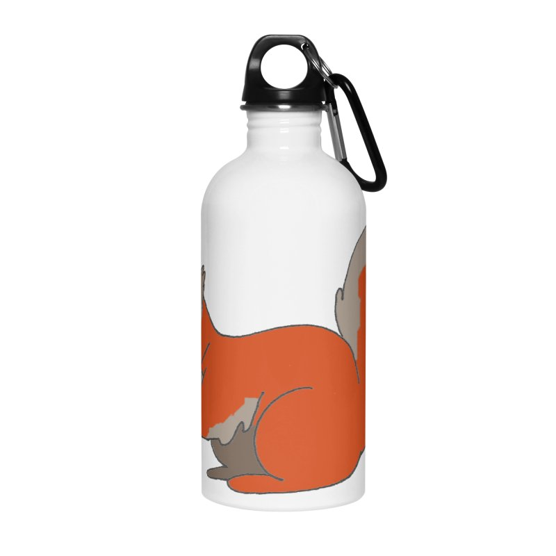 Red Tree Squirrel Accessories Water Bottle by The Wilderness Store