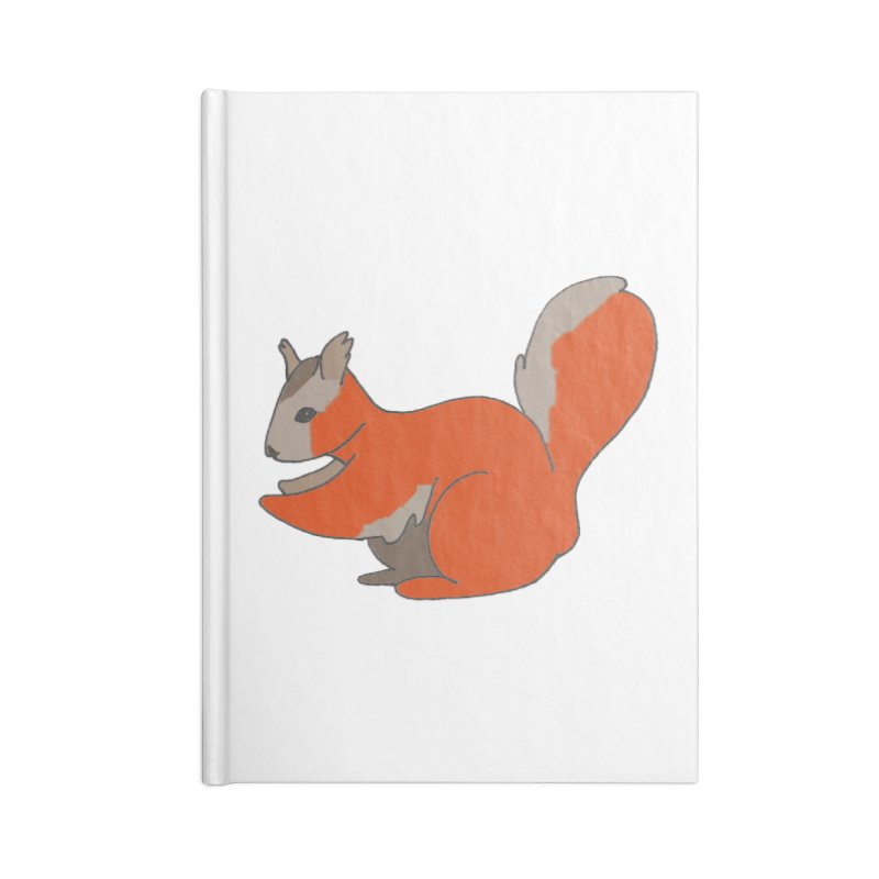 Red Tree Squirrel Accessories Notebook by The Wilderness Store