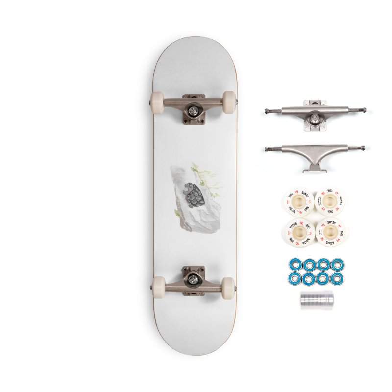Watercolor Forest Wood Turtle Accessories Complete - Premium Skateboard by The Wilderness Store