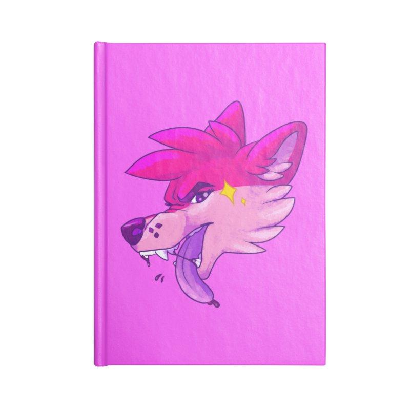 Magenterrible Accessories Notebook by Wild's Designs