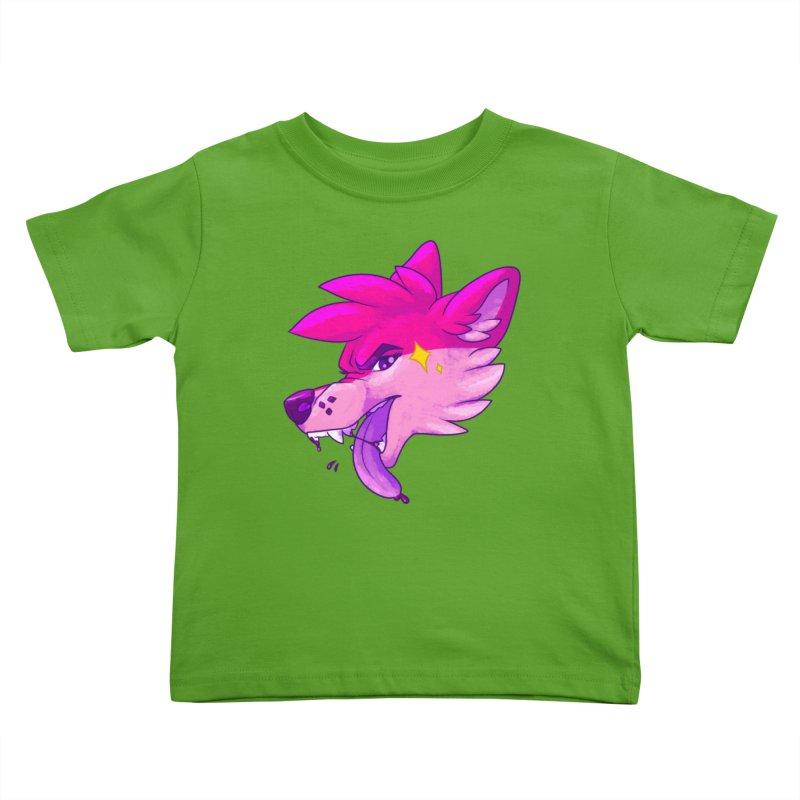 Magenterrible Kids Toddler T-Shirt by Wild's Designs