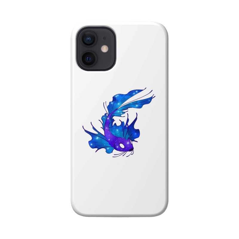 Space Koi Accessories Phone Case by Wild's Designs