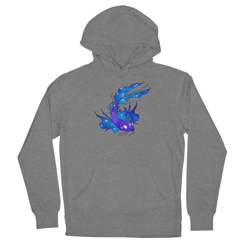 Space Koi Women's Pullover Hoody by Wild's Designs