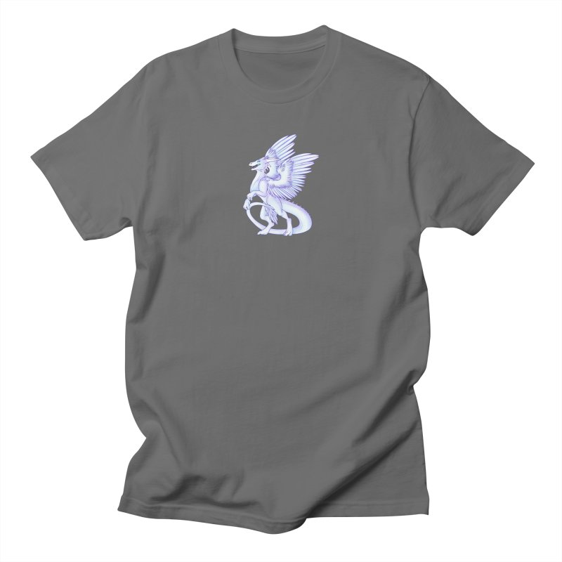 White Dragon Men's T-Shirt by Wild's Designs