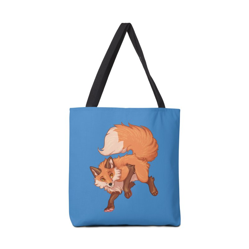 Painted Fox Accessories Bag by Wild's Designs