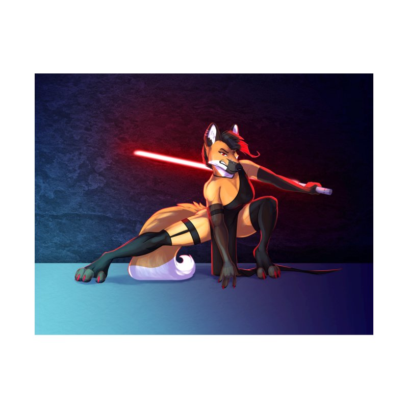 Fearsome Sith Home Fine Art Print by Wild's Designs
