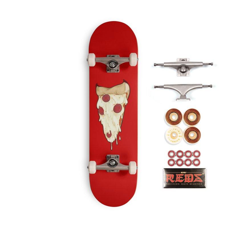 Pizza Demon Accessories Skateboard by Wild's Designs