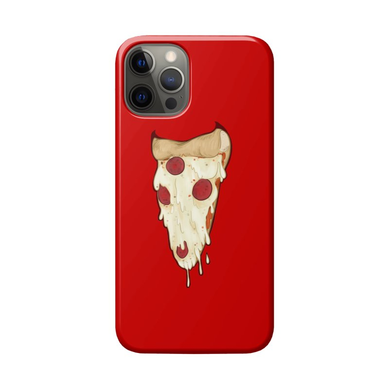 Pizza Demon Accessories Phone Case by Wild's Designs
