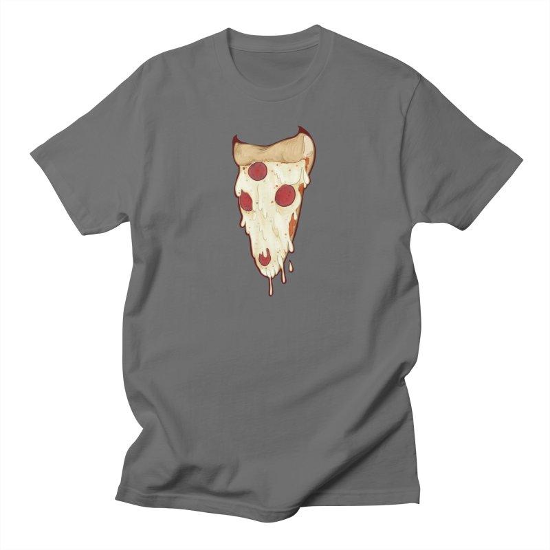 Pizza Demon Men's T-Shirt by Wild's Designs