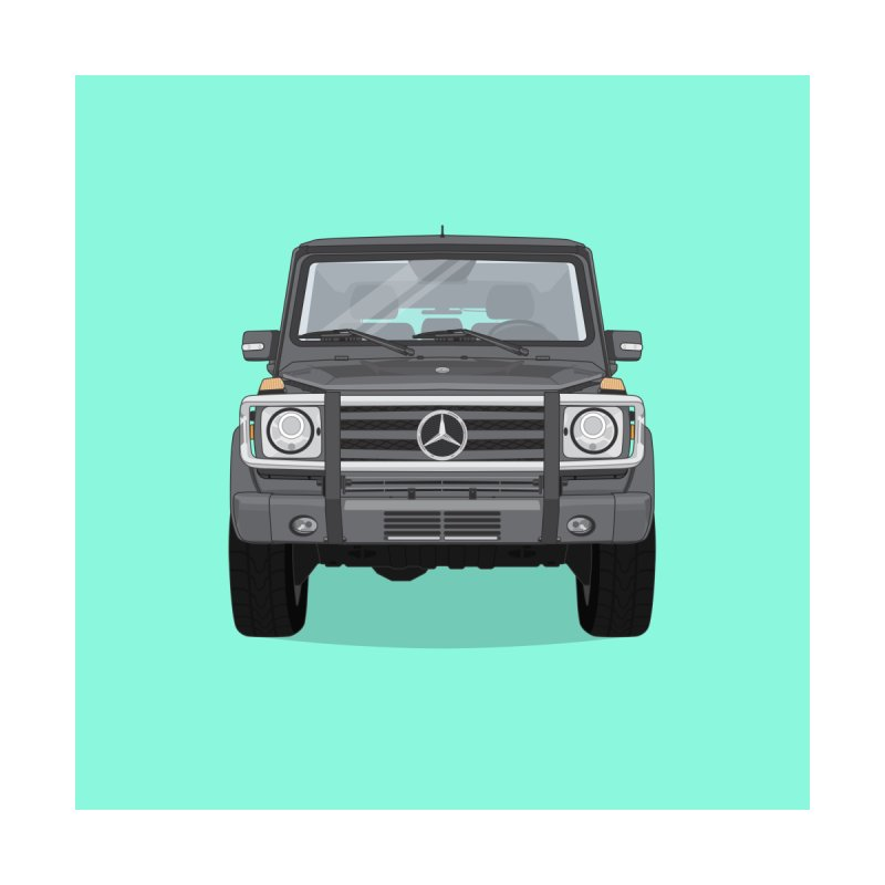 Mercedes AMG G Class 4x4 Accessories Bag by Willard's illustration shop