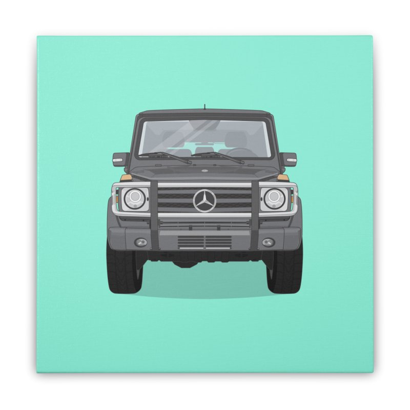 Mercedes AMG G Class 4x4 Home Stretched Canvas by Willard's illustration shop