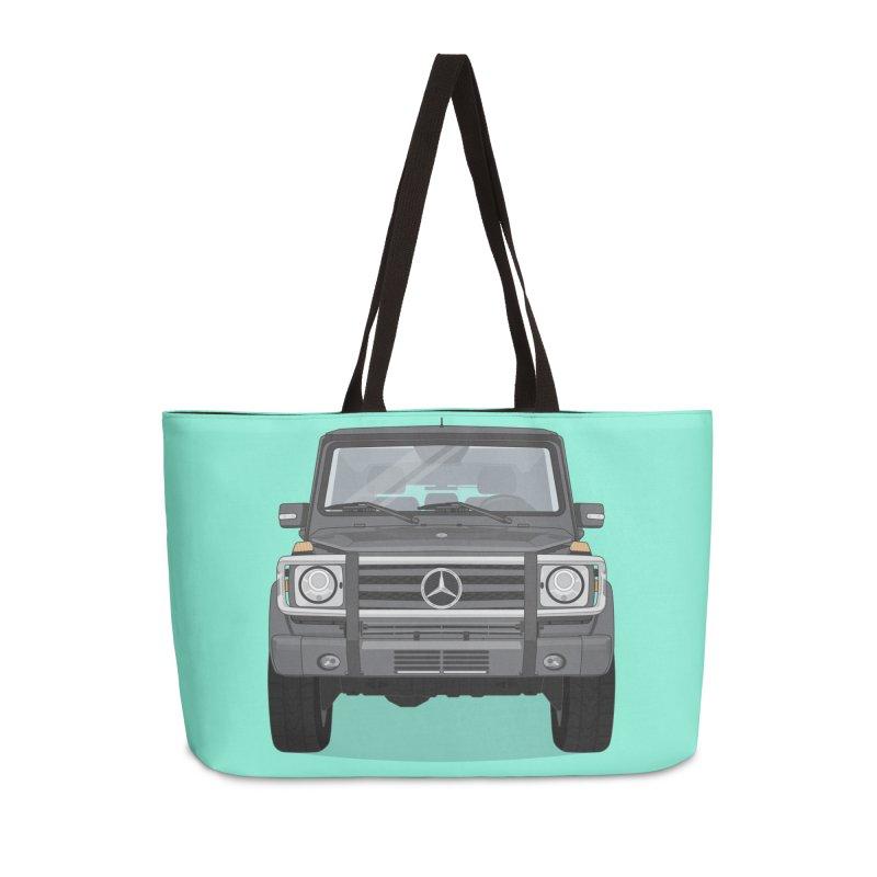 Mercedes AMG G Class 4x4 Accessories Weekender Bag Bag by Willard's illustration shop
