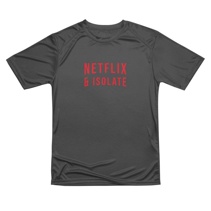 Netflix & Isolate Women's Performance Unisex T-Shirt by Willard's illustration shop