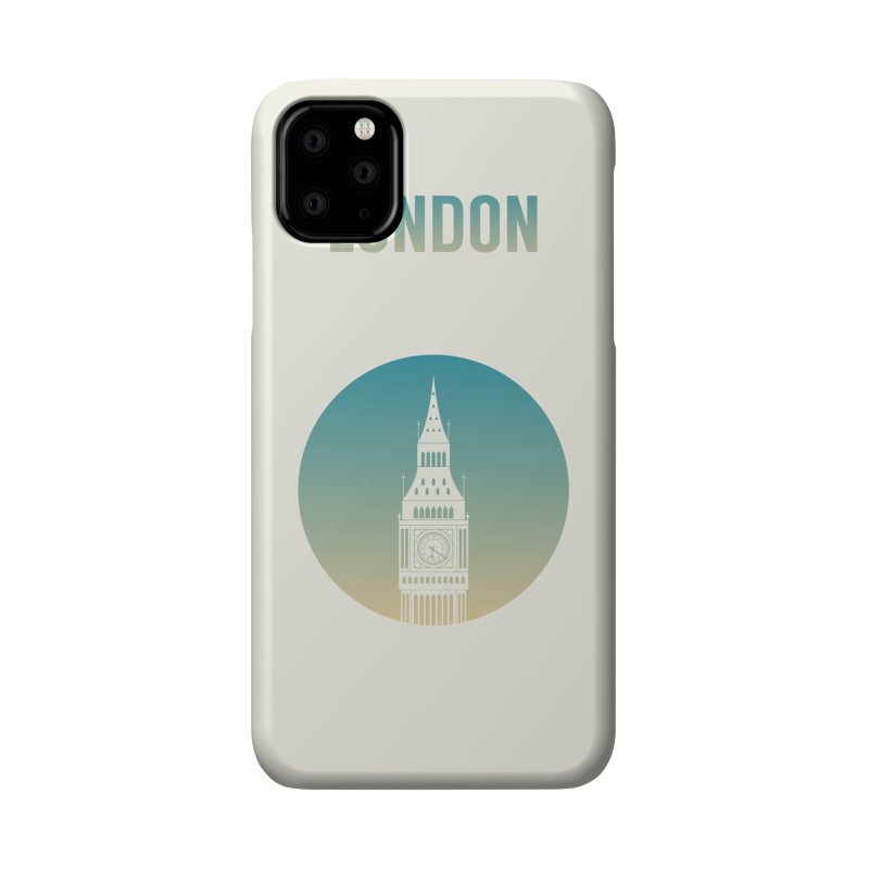 London Accessories Phone Case by Willard's illustration shop