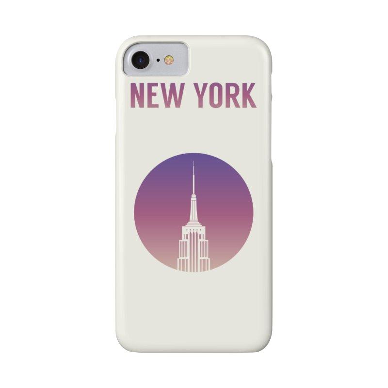 New York Accessories Phone Case by Willard's illustration shop