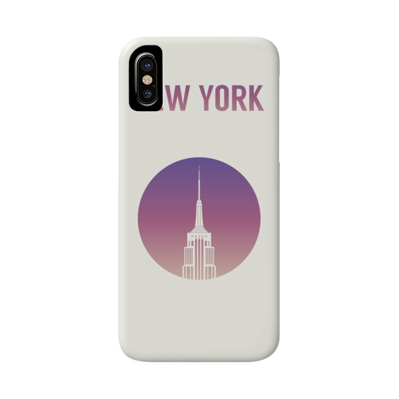 New York Accessories Phone Case by Willard's illustration shop