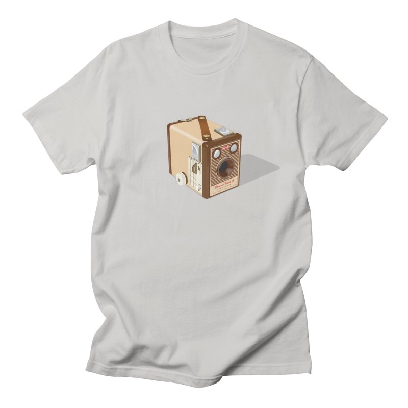1960 'Flash B' Box Brownie camera Men's T-Shirt by Willard's illustration shop
