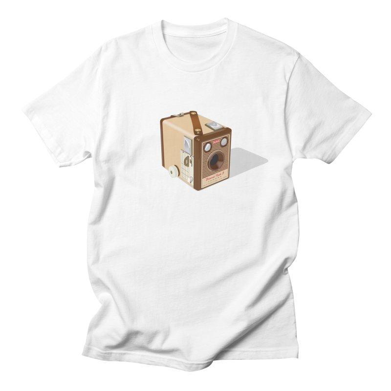 1960 'Flash B' Box Brownie camera Men's Regular T-Shirt by Willard's illustration shop