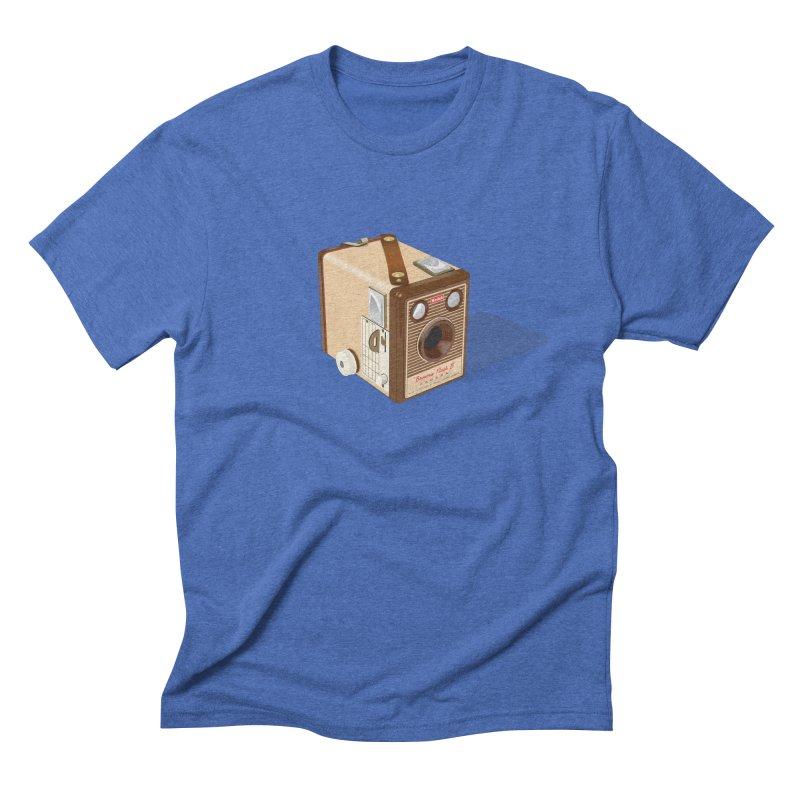 1960 'Flash B' Box Brownie camera Men's Triblend T-Shirt by Willard's illustration shop