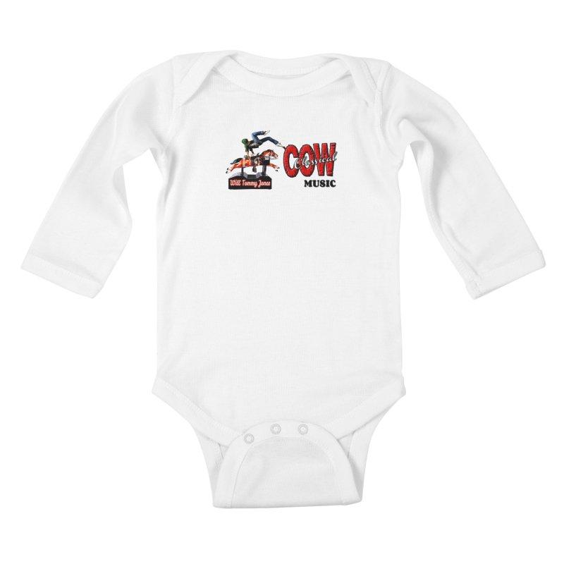 That Buckin' Will! Kids Baby Longsleeve Bodysuit by Will's Buckin' Stuff